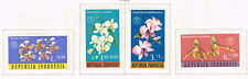 Indonesia Flora Tropical Flowers set 1962 MLH