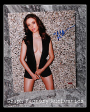 GFA Mad Men Sexy Star Alison Brie Signiert 11x14 Foto A3 Coa