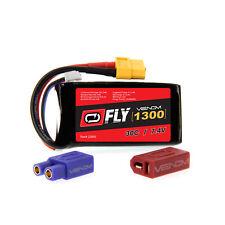 Venom Fly 30C 2S 1300mAh 7.4V LiPo Battery with UNI 2.0 Plug