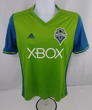 Seattle Sounders FC Jordan Morris #13 Youth XL Home Green Adidas Soccer Jersey