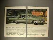 1963 Chevrolet Impala Sport Sedan Car Ad!