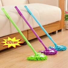 Adjustable 180 Degree Rotatable Triangle Lazy Cleaning Mop