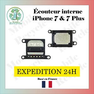 ÉCOUTEUR INTERNE IPHONE 7 ou 7 Plus (HAUT PARLEUR) // VENDEUR PRO FRANCAIS