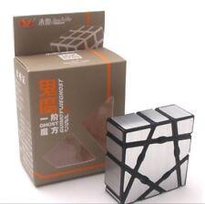 YongJun Cube Ghost Cube Magic Cube 1X3X4 Rubik Magic Puzzle Game Kid ABS Silver