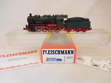 Mes-56666 FLEISCHMANN 4813 h0 Locomotive a Vapeur P. St. B. g8 5353 très bon état