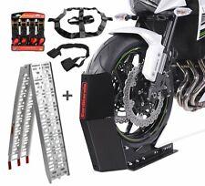Motorradwippe + Alurampe + Fixiergurte für Suzuki Gladius 650 SM14