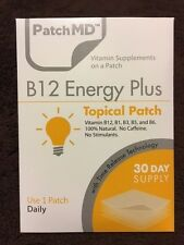 PatchMD B12 Energy Plus * 30 Day Supply - SALE ($1 SHIPPING)