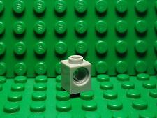 Lego NEW light bluish gray 1 x 1 technic brick with side hole  Lot of 10