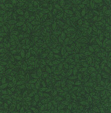 "Emma's Tiny Green Leaves 20 4"" fabric squares quilting cotton floral home decor"