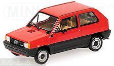 Fiat Panda 45 - 1980-2003 rouge rouge 1:43 Minichamps