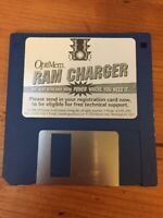 Vintage Macintosh OptiMem RAM Charger Floppy Disk Software Jump Development 1995