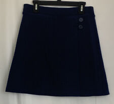 Cat & Jack Girl's Navy Blue Uniform Skirt Skort ~ Size L (10/12) or Xl (14/6)