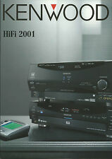 Kenwood Katalog Prospekt 2001 KRF-X9995D KMF-X9050D DVF-R7030 DPF-J6030