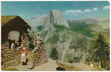 Postcard CA The Lookout, Glacier Point, Yosemite National Park, California c1960