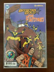 Booster Gold Flintstones Special 1 NM The Jetsons DC Comics 2017 Hanna Barbera