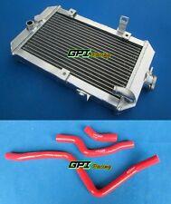 Aluminum radiator + Red hose ATV Yamaha 660R/Raptor 660 YFM660R 2002-2005 03 04