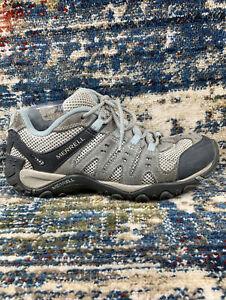 Merrell Accentor Low Hiking Shoes Wild Gray/Cloud Blue Womens Sz 9 J269836C 40EU