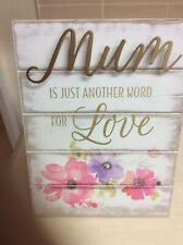 Mum Verse Picture Stand