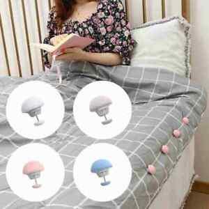 8x Bedding Duvet Quilt Cover Snaps Fixing Clips Fastener Holder Gripper Clip