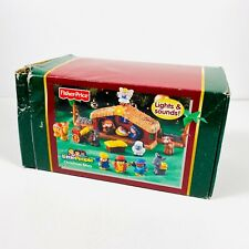 Fisher Price Little People Christmas Story Lights & Sounds 2011 Complete in Box