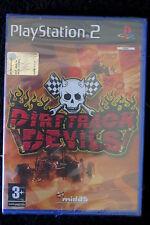 PS2 : DIRT TRACK DEVILS - Nuovo, sigillato ! Guida il tuo fuoristrada !