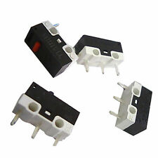 50pcs Micro Switch Limit Switch Touch Switch for Mouse Laptop PC Keyboard 3 Pin