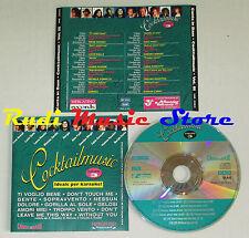 CD COCKTAILMUSIC III Canta in base LUCIO DALLA LAURA PAUSINI PAOLI mc lp (C15)
