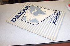 DAKAR STATION SERVICE DE L ATLANTIQUE 1953 journal de la marine marchande