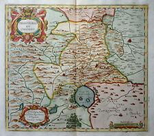 ITALIEN UMBRIEN ITALIA TERRITORIO DI ORVIETO UMBRIA MAGINI MAPPA CARTOUCHE 1620