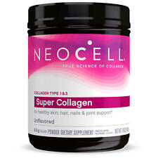 NeoCell Super Collagen Unflavored Powder, Collagen Type 1 & 3 (19 oz.) Exp 12/21