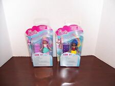 Mega Bloks Barbie: Sweetville Candy Princess and Mermaid New in Box