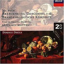 Benjamin/ECO Britten-brandeburghese concerti 1-6 2 CD NUOVO