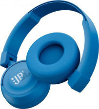JBL T450BT Bluetooth Wireless Headphones Blue Pure Bass Postage