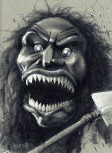 ZUNI FETISH DOLL from TRILOGY OF TERROR Poster Print