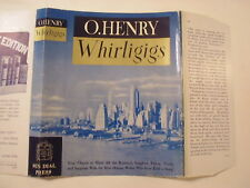 Whirligigs, O. Henry, Dust Jacket Only