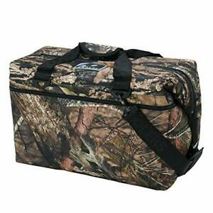 AO Coolers Original Soft Cooler with High-Density Insulation Mossy Oak 36-Can