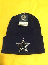 NWT Dallas Cowboys Hat NFL Football Winter Cap Navy Blue