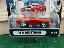 Muscle Machines 66 Ford Mustang Gt350 Burnt Orange 1:64 Diecast 1966 Car 01-34