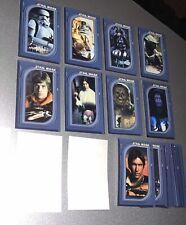 Star Wars Test Print Hungarian Sticker Set (not Cards) Near Mint Very Rare