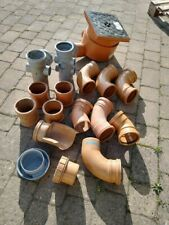 Underground drainage and soil fittings Osma110mm job lot