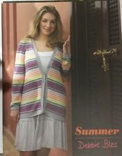 Summer by Debbie Bliss.  Knitting pattern book