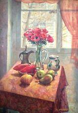 DAVID MURGINSKI (1905-1975), Oil on Board, Still Life, School Ecole de Paris