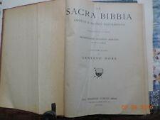 La Sacra Bibbia Traduz. Mons. A.Martini illustrato da Dorè 1948 Curcio editore