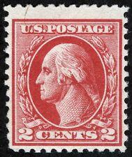 US Sc 526 Carmine 2¢ Ty IV Offset Press MNH Original Gum