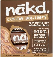 Nakd Cocoa Delight Gluten Free Bars (20x4x35g)