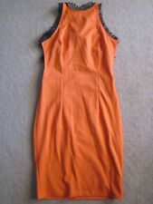 Leoni Paige Orange Dress size 10