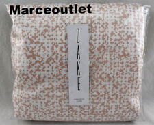 Oake Speckled Colorblock Cotton FULL / QUEEN Duvet Cover Coral