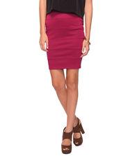 FOREVER 21 Regular Polyester Straight, Pencil Women's Skirts