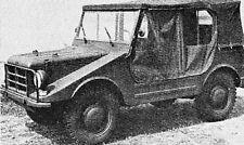 Bauplan Auto-Union Geländewagen Modellbau Modellbauplan