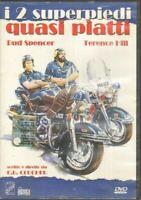 I 2 SUPERPIEDI QUASI PIATTI Abbinamento Editoriale DVD Film ITALIANO PAL